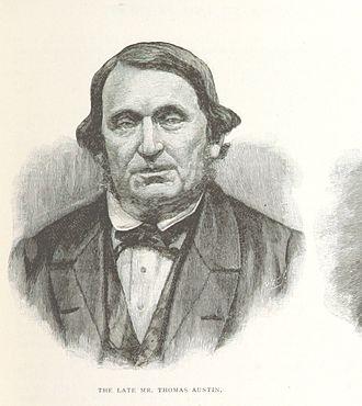 Thomas Austin - An 1888 illustration of Austin