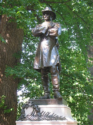 Richard E. Brooks - Statue of Thomas Cass by Richard E. Brooks, 1899