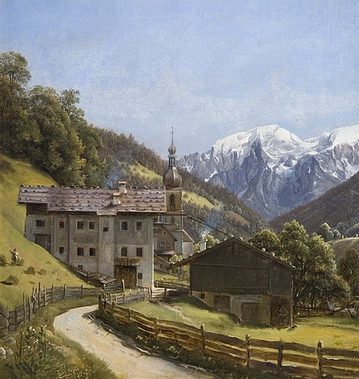 Thomas Fearnley - Ramsau (1832)
