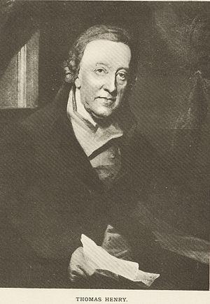 Thomas Henry (apothecary) - Thomas Henry