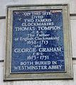 Thomas Tompion George Graham plaque London.jpg