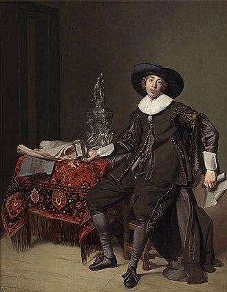 Thomas de Keyser - Image: Thomas de Keyser Portrait of a Silversmith WGA12178
