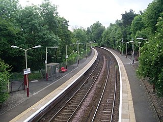 Thornliebank railway station railway station in the UK