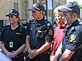 Three police students and Storberget.jpg