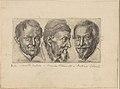 Three portraits possibly representing Camillo Graffico, Ercole Pedemonte and Antonio Carone MET DP255354.jpg
