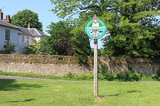 Thursley village in the United Kingdom