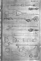 Tibetan and Indian surgical instruments. Wellcome M0008168.jpg