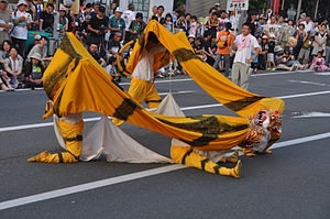 Kitakami Michinoku Traditional Dance Festival - Tiger dance of Kamaishi, Iwate