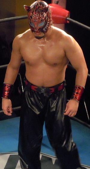 Atsushi Maruyama - Maruyama as Tigers Mask in April 2011.