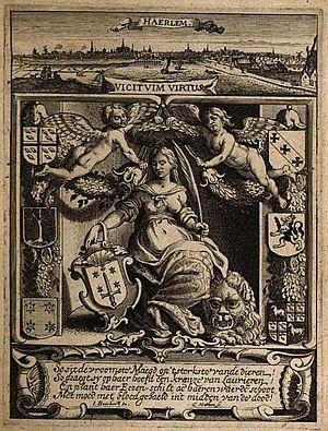 Jan Philipsz van Bouckhorst - Titlepage to Samuel Ampzing's 'Description of Haarlem