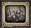 To unge par - daguerreotypi - ca. 1850 - Oslo Museum - OB.F16023f.jpg