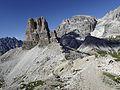 Toblinger Knoten (2617m) - 1. Tag Sextener Dolomiten (9801215496).jpg