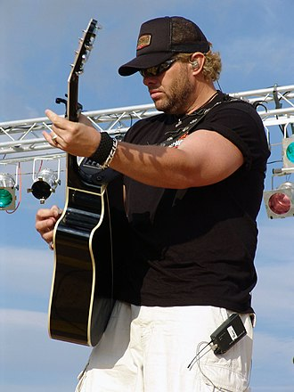 Toby Keith - Toby Keith playing guitar