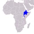 Tockus hemprichii - Distribution.png