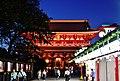 Tokio Tempel Senso-ji bei Nacht 3.jpg