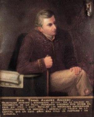Tomás Álvarez de Acevedo - Tomás Antonio Álvarez de Acevedo Ordaz