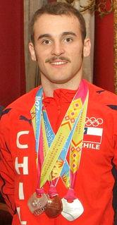 Tomás González (gymnast) gymnast