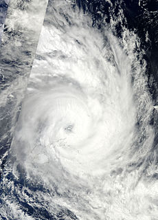 Cyclone Tomas Category 4 South Pacific cyclone in 2010