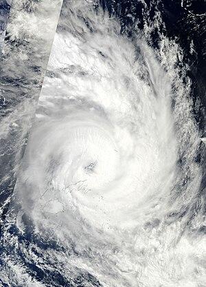 Cyclone Tomas - Image: Tomas 14 mar 2010 2330Z