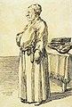 Tomaso Albinoni (?), caricature de Pier Leone Ghezzi, 1724-27.jpg