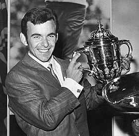 Tony Jacklin en 1969.