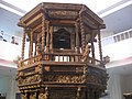 Top of the Chariot Used During Portuguese Era.jpg