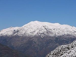 Sierra de las Nieves - Torrecilla Peak in the Sierra de las Nieves
