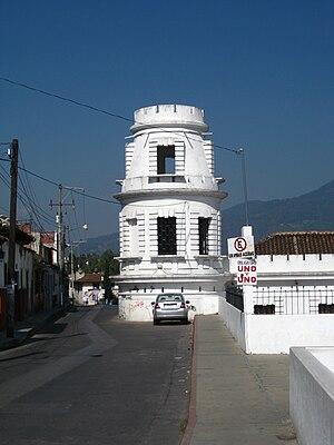 Turm des Museo del ámbar
