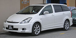 Toyota Wish (first generation) (front), Kajang.jpg