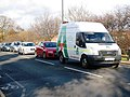 Traffic queue on Stokesley Road, Marton - geograph.org.uk - 1595406.jpg