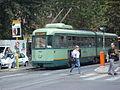 Tram crossing Via Po.jpg