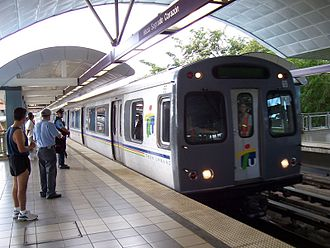 Transportation in Puerto Rico - Tren Urbano at Bayamón Station