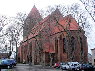 Tribsees - Image: Tribsees Thomaskirche von Osten