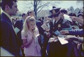 Tricia signs autographs at the Easter Egg Roll - NARA - 194356.tif