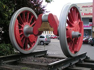 DRG Class 44 - Driving axle of a Class 44
