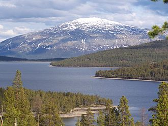 Savalen - With Tronfjell in the background
