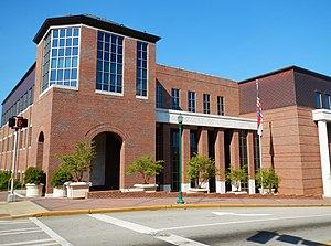 LaGrange, Georgia - Image: Troup County Georgia Government Center
