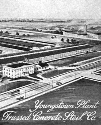 Trussed Concrete Steel Company -  circa 1915