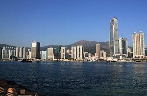 Tsuen Wan - Image: Tsuen Wan Skyline 2010
