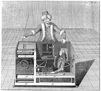 Darwin's Dangerous Idea - Von Kempelen's chess automaton, discussed in chapter 15.