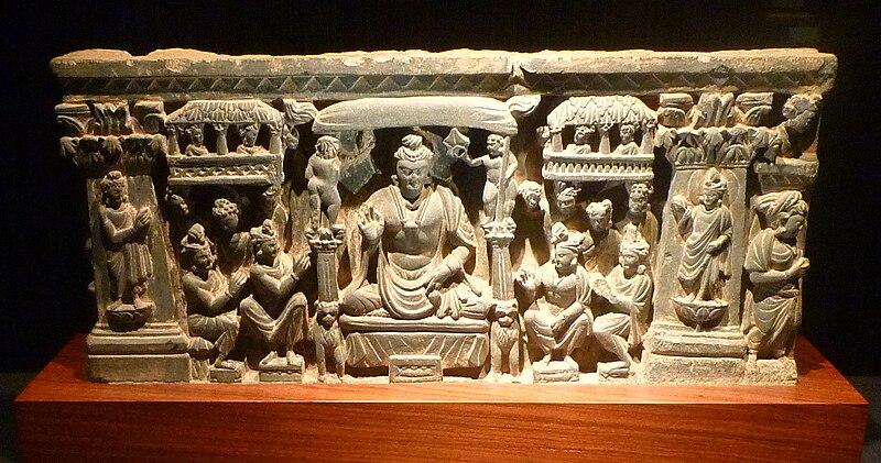 File:Tushita heaven - stone relief carving - pakistan.jpg