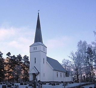 Laget Church Church in Aust-Agder, Norway