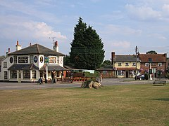 Two pubs at Shinfield - geograph.org.uk - 39408.jpg