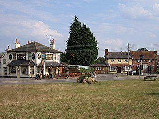 Shinfield village in the United Kingdom