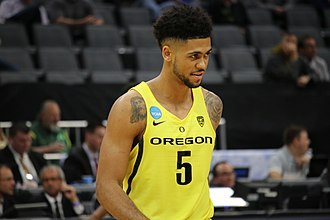Tyler Dorsey - Dorsey with Oregon, in 2017.