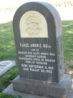 Tyree H. Bell - Tyree Harris Bell Grave Marker