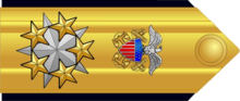 Proposed shoulder board insignia for a possible six-star admiral grade.