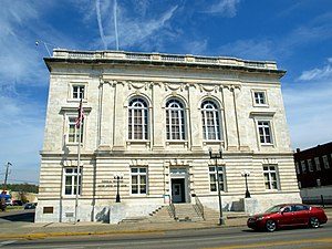 United States Post Office (Anniston, Alabama) - The building in April 2014