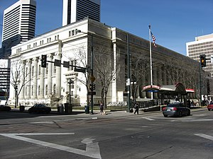 Byron White United States Courthouse - Image: U.S. Post Office and Federal Building, Denver