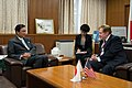 U.S. Special Envoy King with Japan's Abduction Issue Minister Furuya (9614616674).jpg